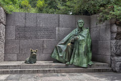 Memoriale del Franklin Delano Roosevelt a Washington Immagine Stock