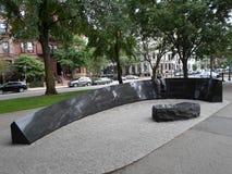 Memoriale del fuoco dell'hotel di Vendome, centro commerciale del viale del commonwealth, Boston, Massachusetts, U.S.A. Fotografia Stock Libera da Diritti