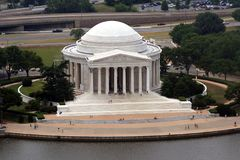 Memoriale del Jefferson Fotografie Stock