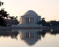 Memoriale del Jefferson - festival del fiore di ciliegia Fotografia Stock Libera da Diritti