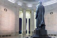 Memoriale del Jefferson in Washington DC Fotografia Stock