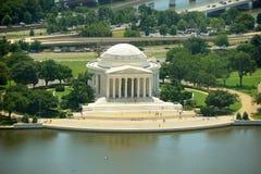 Memoriale del Jefferson in Washington DC, S Fotografia Stock Libera da Diritti