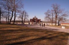 Memoriale del KZ Buchenwald Fotografie Stock