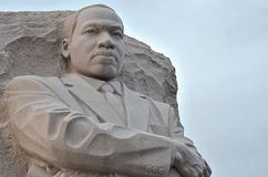 Memoriale del Martin Luther King Jr. in Washington DC Fotografia Stock