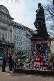Memoriale del Michael Jackson a Monaco di Baviera Fotografia Stock Libera da Diritti