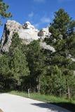 Memoriale del monte Rushmore dai presidenti Trail Fotografia Stock