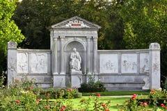 Memoriale del poeta Immagine Stock Libera da Diritti