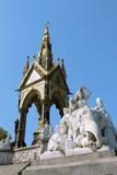 Memoriale del principe Albert, Londra Immagini Stock