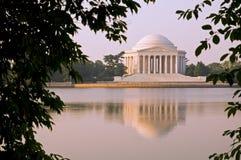 Memoriale del Thomas Jefferson Fotografie Stock Libere da Diritti