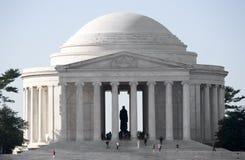 Memoriale del Thomas Jefferson Fotografia Stock