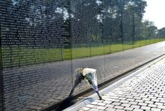 Memoriale del Vietnam Fotografie Stock