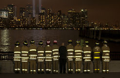 Memoriale del World Trade Center Fotografia Stock Libera da Diritti