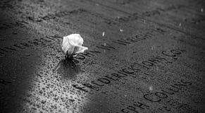 Memoriale del World Trade Center Immagini Stock