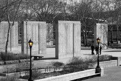 Memoriale della costa Est della seconda guerra mondiale, New York Immagine Stock