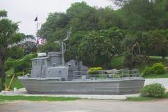 Memoriale della nave da guerra fotografia stock libera da diritti