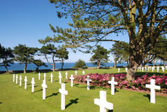 Memoriale della Normandia WW2, Francia Immagine Stock