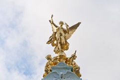 Memoriale della regina Victoria a Londra, Inghilterra Immagine Stock