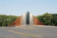 Memoriale della rivoluzione e di una guerra di Indipendenza di 1956 ungheresi immagini stock libere da diritti
