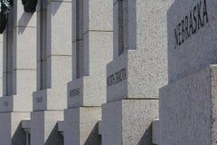 Memoriale della seconda guerra mondiale Fotografie Stock Libere da Diritti