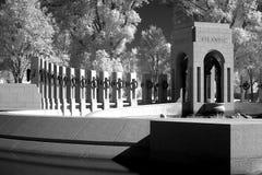Memoriale della seconda guerra mondiale Immagini Stock