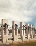 Memoriale della seconda guerra mondiale Fotografie Stock