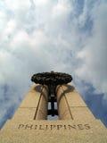 Memoriale della seconda guerra mondiale - Filippine Fotografia Stock Libera da Diritti