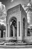 Memoriale della seconda guerra mondiale a Washington Immagini Stock Libere da Diritti