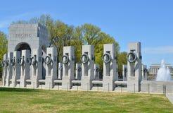 Memoriale della seconda guerra mondiale, Washington DC Immagine Stock Libera da Diritti