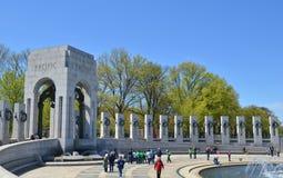 Memoriale della seconda guerra mondiale, Washington DC Fotografie Stock