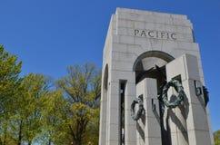 Memoriale della seconda guerra mondiale, Washington DC Fotografia Stock