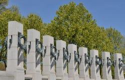 Memoriale della seconda guerra mondiale, Washington DC Immagini Stock