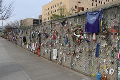 Memoriale di Afred P Murrah di Oklahoma City immagine stock libera da diritti