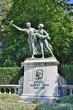 Memoriale di Albert Thys in Coinquantenaire Parc a Bruxelles Fotografia Stock Libera da Diritti