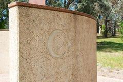 Memoriale di Ataturk a Canberra Australia Immagine Stock