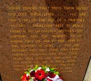 Memoriale di Ataturk a Canberra Australia Immagine Stock Libera da Diritti