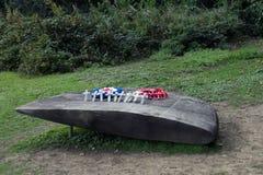 Memoriale di B17G Fotografia Stock