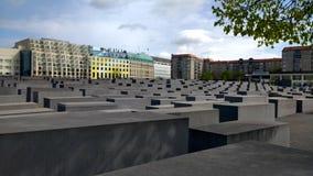 Memoriale di Berlino Immagini Stock