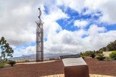 Memoriale di disastro aereo di Tenerife immagini stock