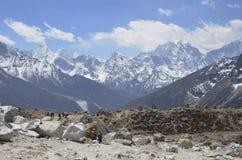 Memoriale di Everest Immagine Stock