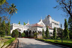 Memoriale di Gandhi, palazzo di Aga Khan, Pune Immagine Stock Libera da Diritti