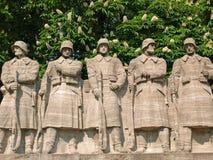 Memoriale di guerra Fotografie Stock