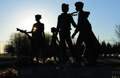 Memoriale di guerra Immagini Stock Libere da Diritti