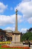 Memoriale di guerra, Bakewell Fotografia Stock