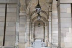 Memoriale di guerra, camere della città sulla via reale di miglio; Edimburgo Immagine Stock Libera da Diritti
