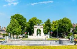Memoriale di guerra a Chartres, Francia immagini stock