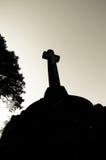 Memoriale di guerra a Clovelly Fotografie Stock