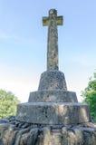 Memoriale di guerra a Clovelly Immagini Stock Libere da Diritti