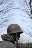 Memoriale di guerra di Corea del soldato fotografia stock