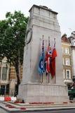 Memoriale di guerra del cenotafio Fotografia Stock Libera da Diritti