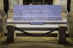 Memoriale di guerra del cenotafio alle camere della città a Edimburgo Immagine Stock Libera da Diritti